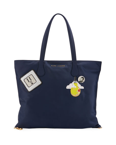 Marc Jacobs Wingman Patch Nylon Tote Bag