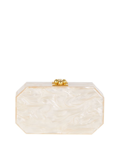 Fiona Faceted Clutch Bag