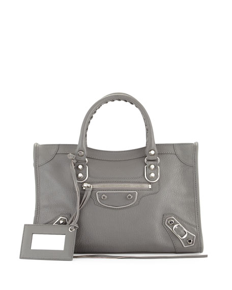 Balenciaga Classic Metallic Edge City Small Bag
