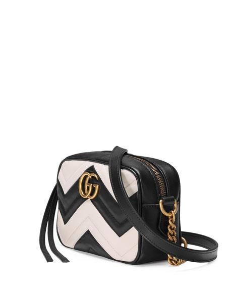 d2d7c2732b4f Gucci GG Marmont Mini Matelassé Camera Bag