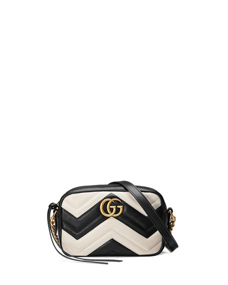 c44c859f2c1 Gucci GG Marmont Mini Matelassé Camera Bag
