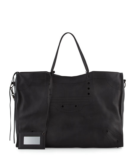 Blackout City Extra-Large Tote Bag