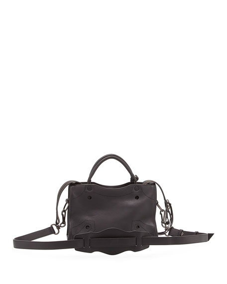 City Aj Extra Small Tote Bag, Black