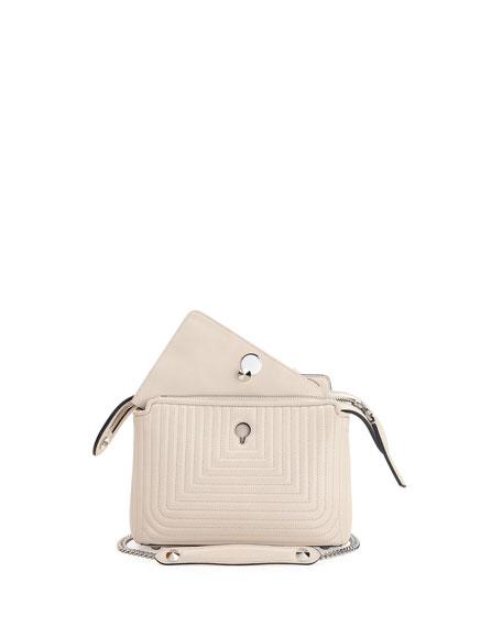 36a08b26cbc9 Fendi Dotcom Click Small Quilted Chain Shoulder Bag