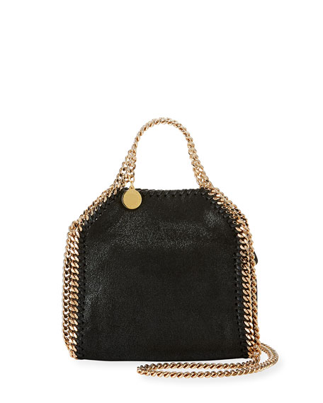 Tiny Falabella Shoulder Bag, Black