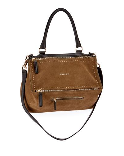 Givenchy Antigona Woven Leather Satchel Bag, Black/White ...