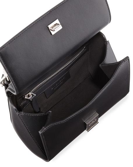Pandora Smooth Leather Box Bag, Black
