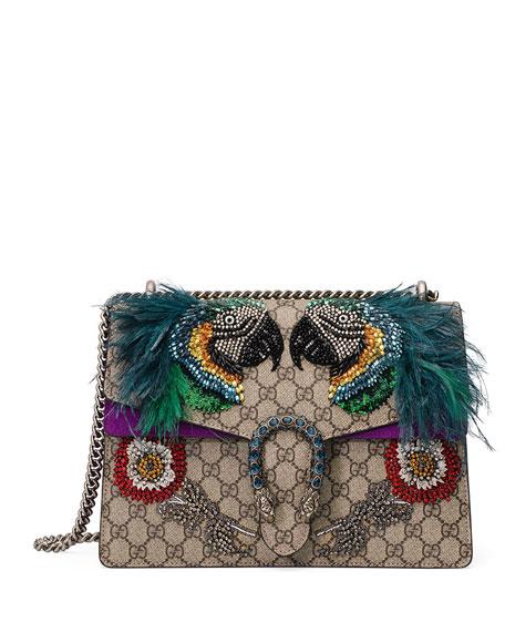 Gucci Dionysus Medium Parrot Shoulder Bag, Multi