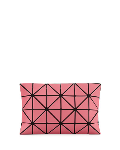 Lucent Frost Lightweight Clutch Bag, Pink