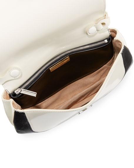 Fan Bag 10 Top-Carry Bag, Black/White