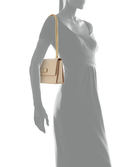 91af3b689ada Salvatore Ferragamo Ginny Vara Medium Flap Bag
