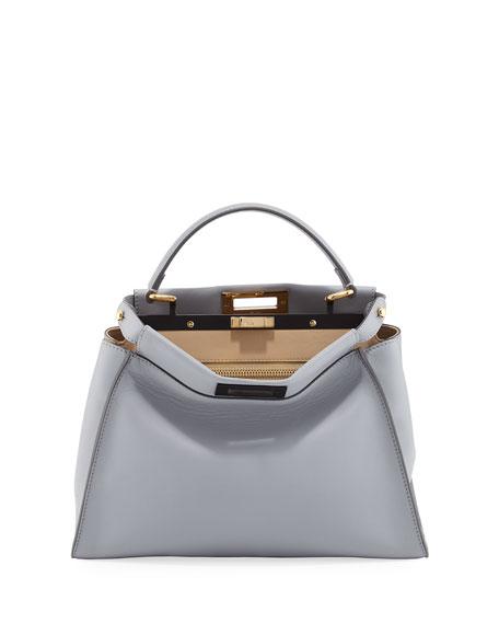 Peekaboo Medium Bicolor Tote Bag