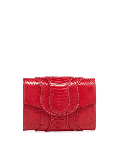 Jolie Watersnake Clutch Bag