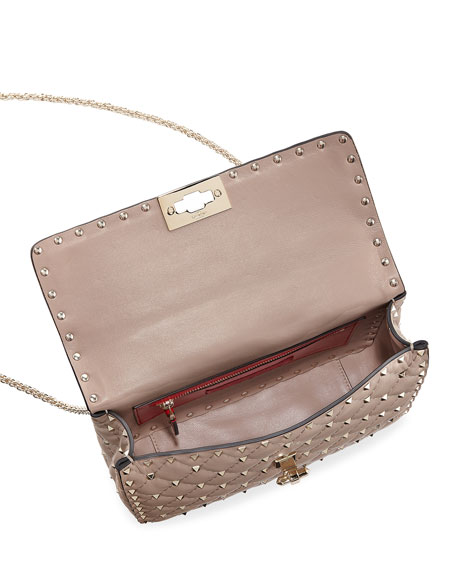 Rockstud Medium Quilted Shoulder Bag
