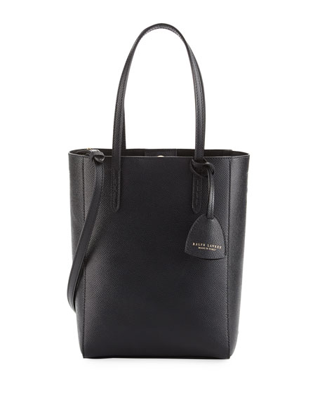 Mini Modern Tote Bag, Black