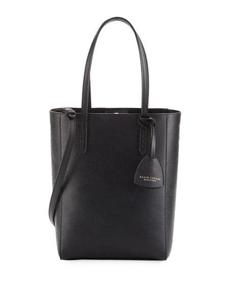 Mini Modern Tote Bag, Black