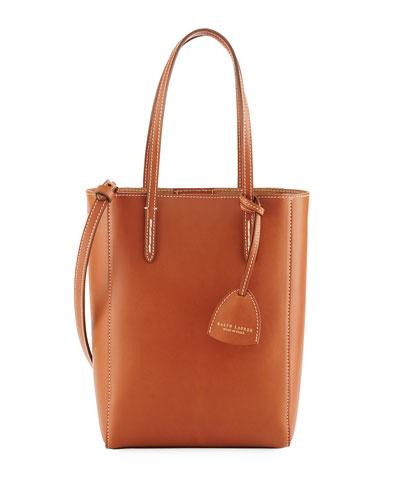 Mini Modern Tote Bag, Brown
