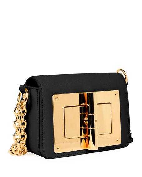 Natalia Small Leather Chain Shoulder Bag