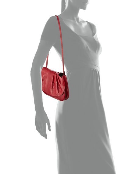 Fan Bag 10 Small Python Clutch Bag