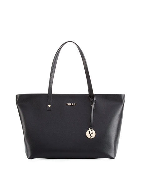 Furla Daisy Medium Saffiano Tote Bag, Black