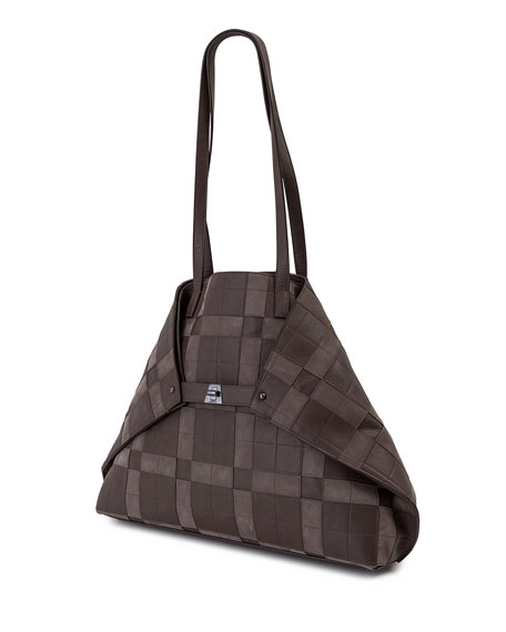AI Medium Patchwork Shoulder Bag