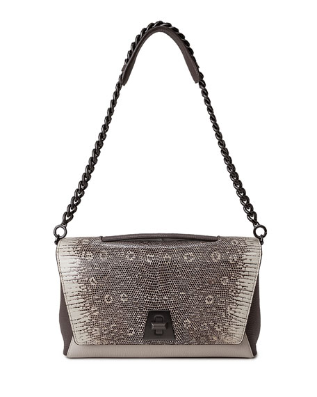 Anouk Lizard Day Bag