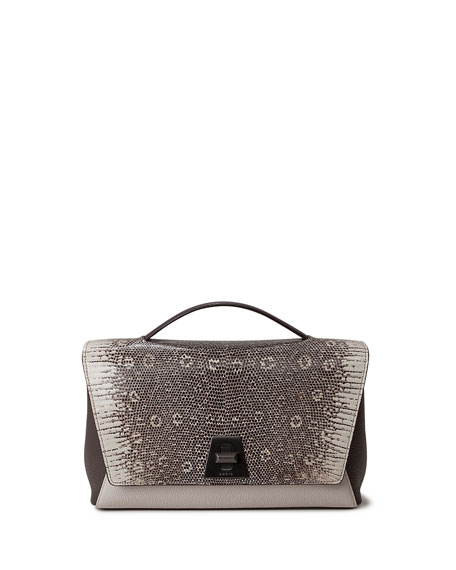 Akris ANOUK DAY BAG LIZARD