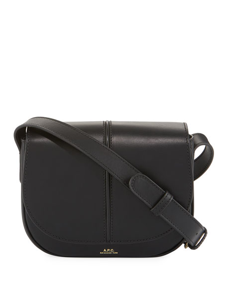 Besace Betty Leather Saddle Bag