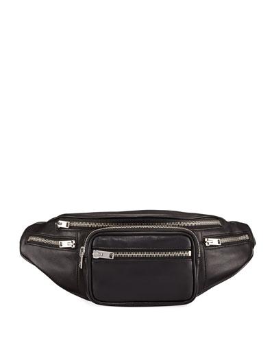 Attica Washed Leather Belt Bag