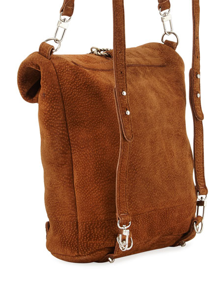 Capybara Leather Backpack, Brown