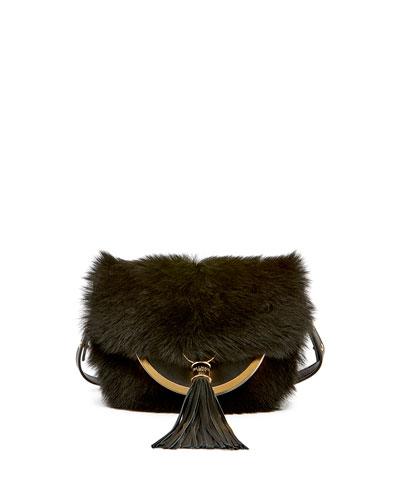 Domaine 18 Fur Shoulder Bag