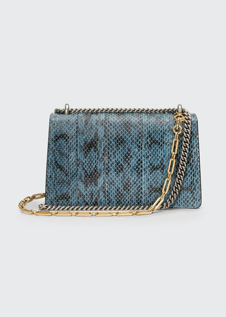 Dionysus Small Blind For Love Shoulder Bag, Blue Pattern