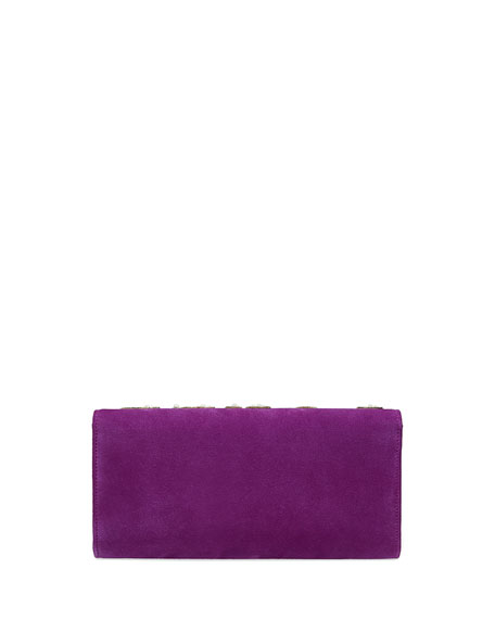 Dionysus Loved Suede Clutch Bag
