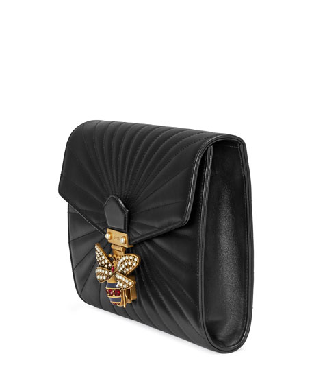 7ae001d50b4e6f Gucci Clutch Bag With Bee | Stanford Center for Opportunity Policy ...