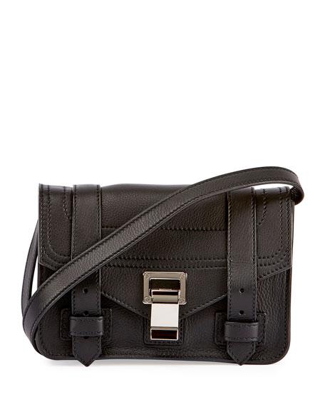 2d37d33c9f0 Proenza Schouler PS1 Mini Leather Crossbody Bag, Black