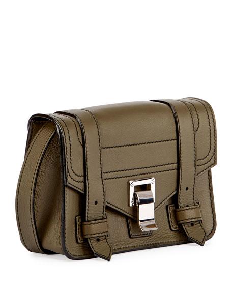 PS1 Mini Leather Crossbody Bag, Green