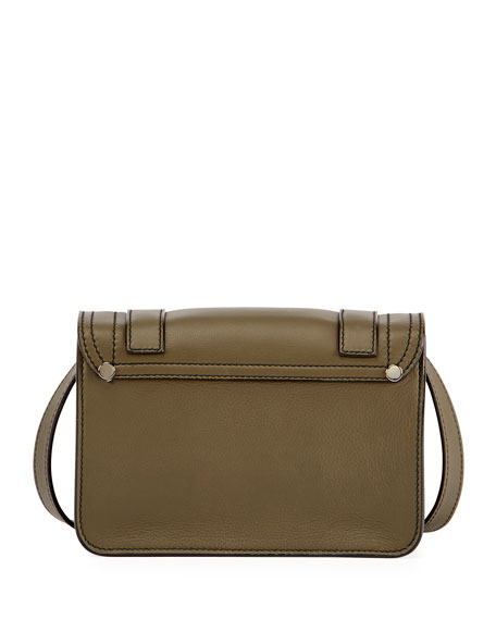 PS1 Mini Leather Crossbody Bag, Green