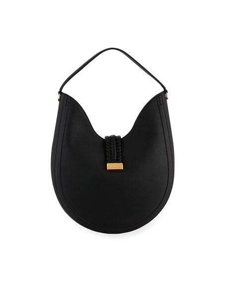 Ghianda Large Knot Hobo Bag