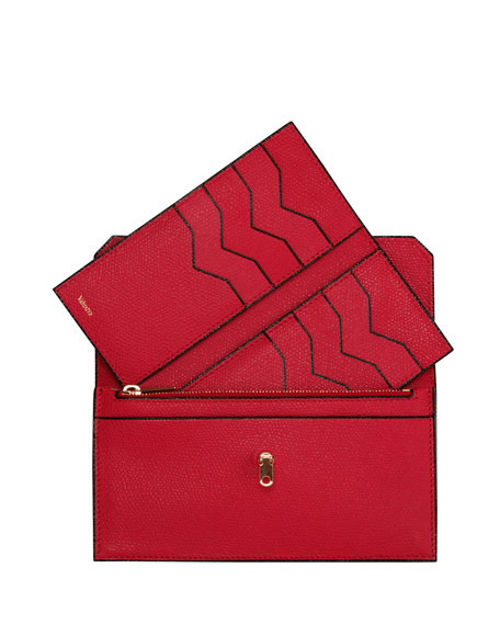 Leather Portfolio City Wallet