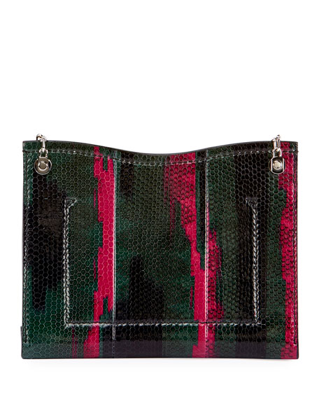 Small Curl Chain Shoulder Bag, Black (Noir)