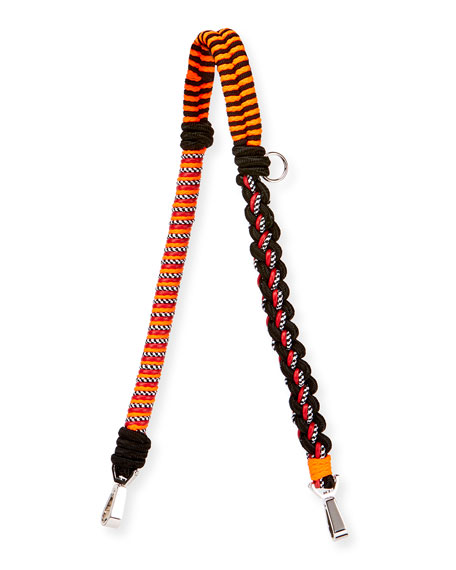 Braided Cord Shoulder Strap, Red