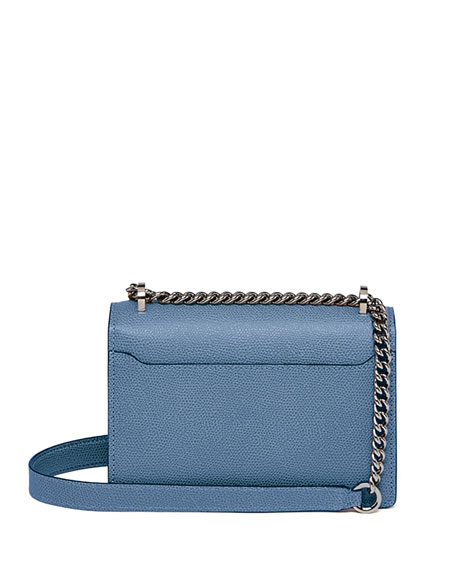 Spritz Leather Chain Shoulder Bag