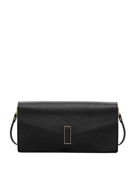 Pochette Iside Leather Clutch Bag