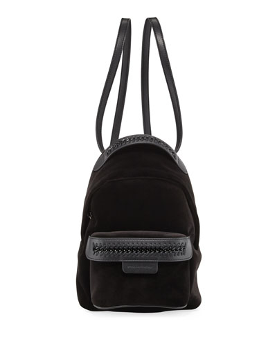 Velvet Mini Falabella Backpack