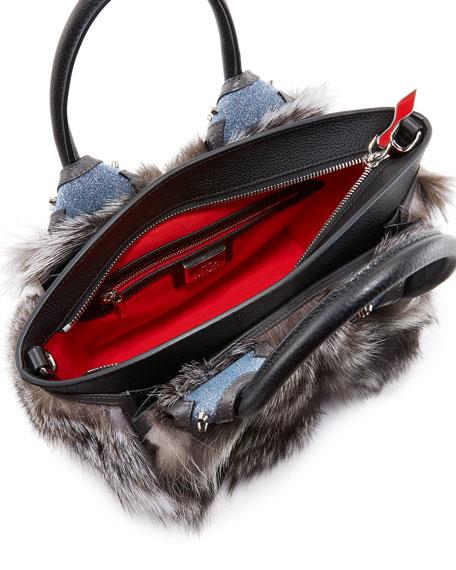 Eloise Small Fox Fur Tote Bag