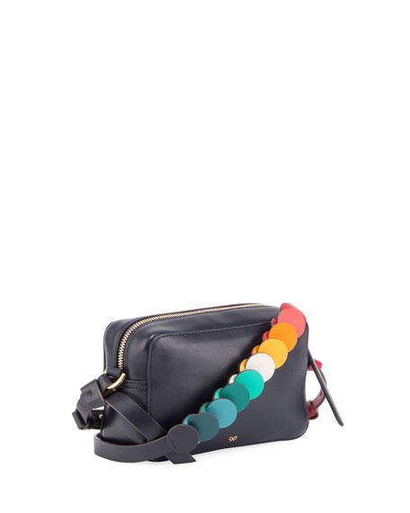 Mini Circle Crossbody Bag, Multi