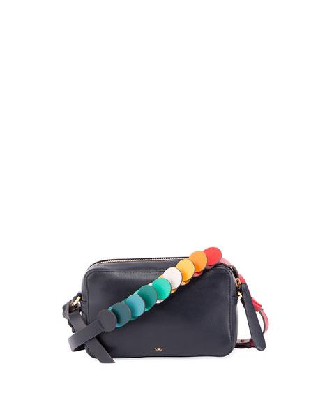 Anya Hindmarch Mini Circle Crossbody Bag, Multi