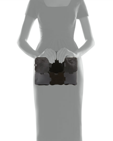 Element Dragonne Leather Pouch Bag