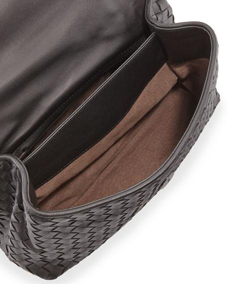 Olimpia Small Shoulder Bag, Black
