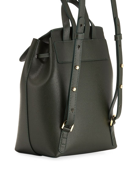 Saffiano Mini Back Pack